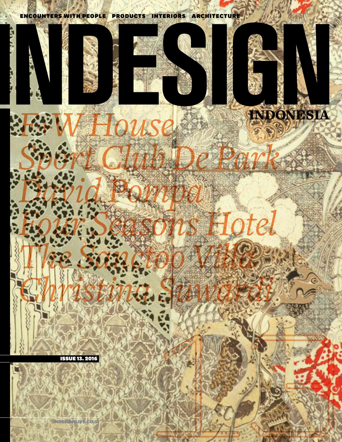 Indesign Indonesia 13 2016 By Sunthy Sunowo Issuu