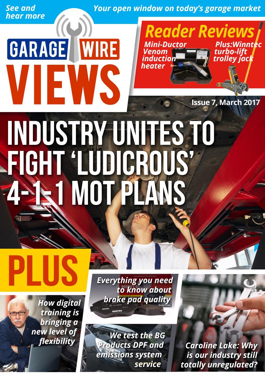 Gw Views Issue 7 Mar 17 By Garage Wire Issuu