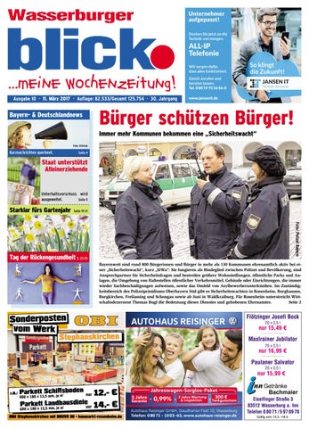 Wasserburger Blick Ausgabe 10 2017 By Blickpunkt Verlag Issuu