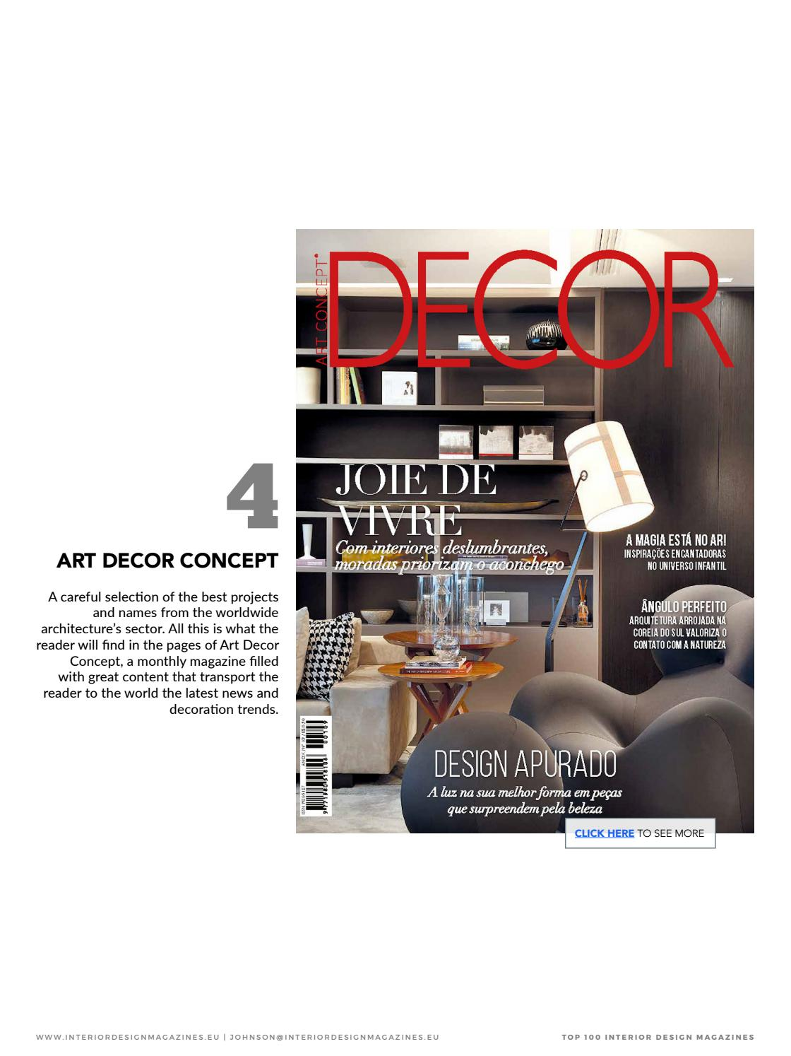 Interior Design Magazines Decor By Home Living Magazines Issuu