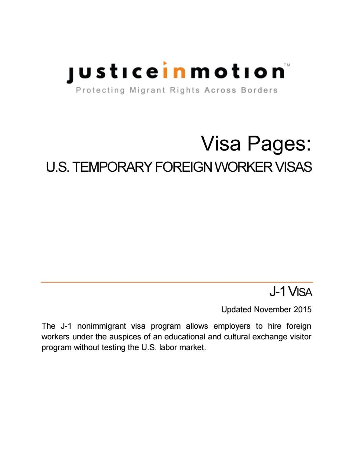 Visa Pages J 1 2015 By Justice In Motion Issuu