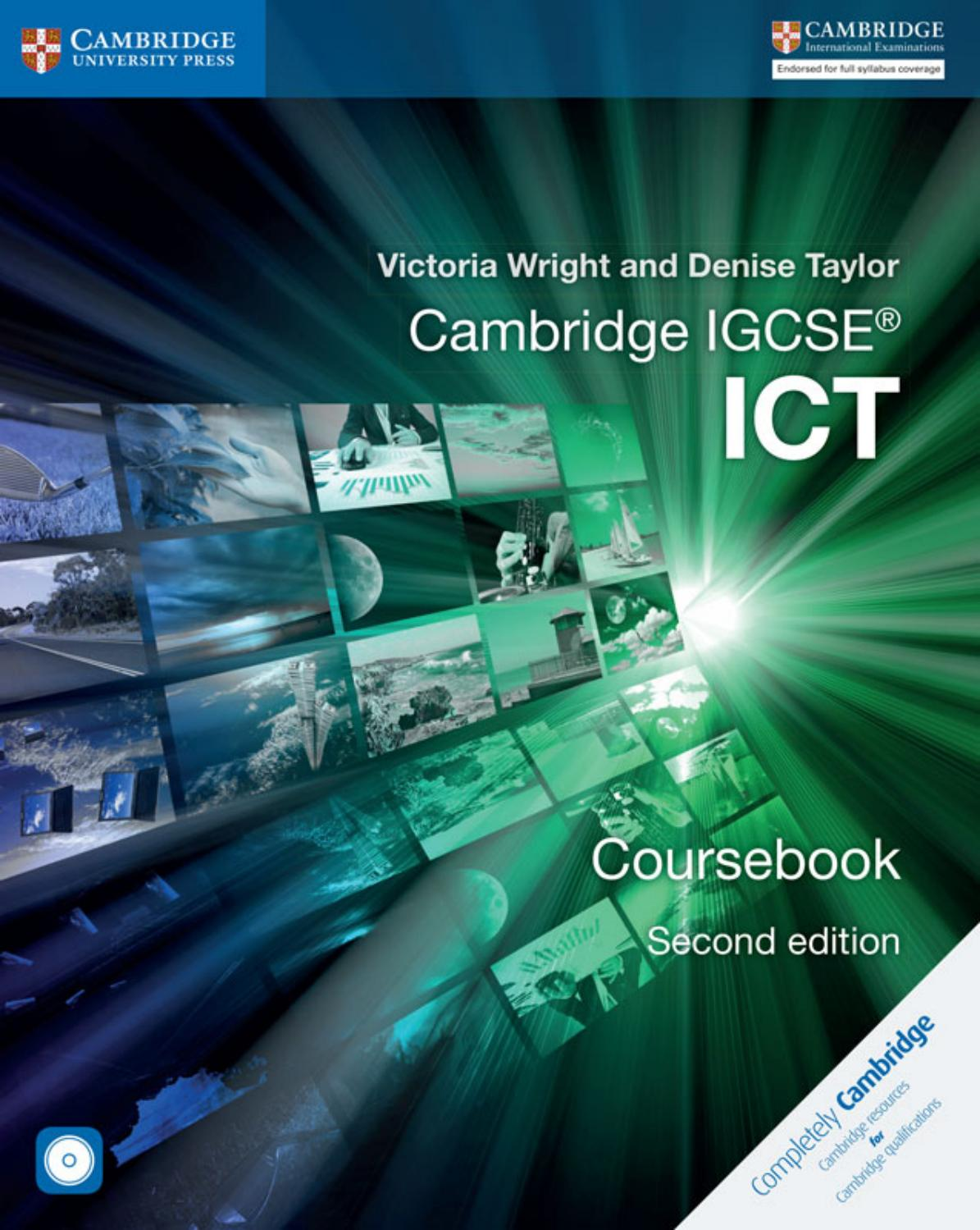 Preview Cambridge Igcse Ict Coursebook By Cambridge University Press Education Issuu