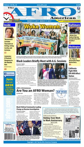 Baltimore Washington 10 20 2017 by The AFRO American issuu
