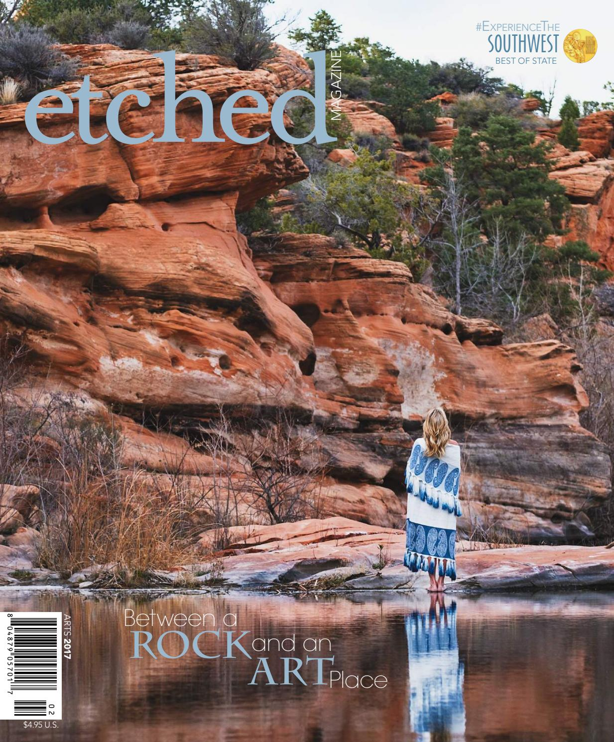 Etched Magazine Arts Issue - March April 2017 by Etched