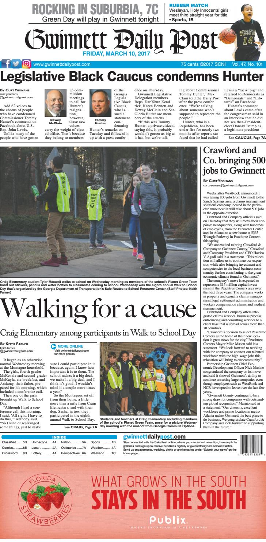 March 10 2017 Gwinnett Daily Post By Gwinnett Daily Post Issuu