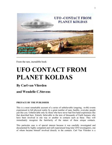 Ufo contact from planet koldas by Vailx - issuu