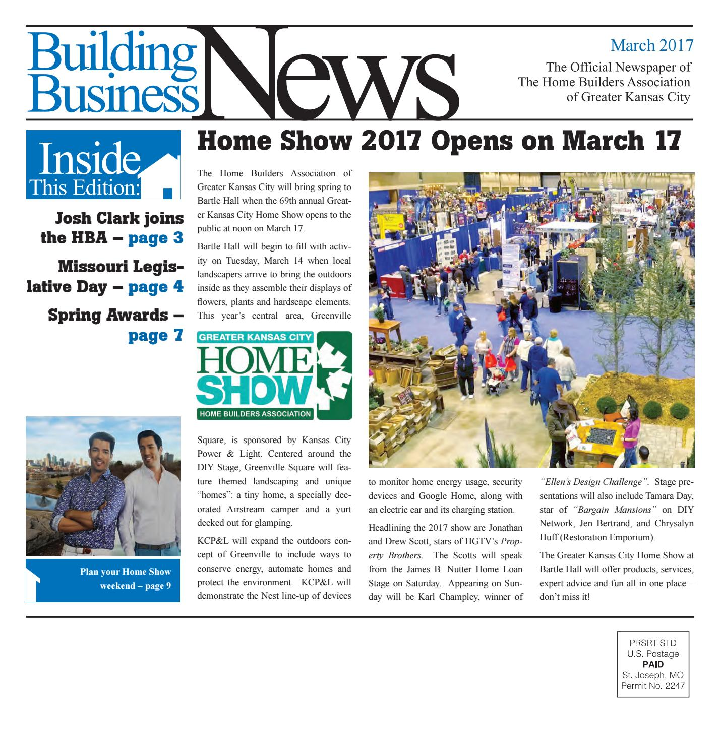 Building Business News For March 2017
