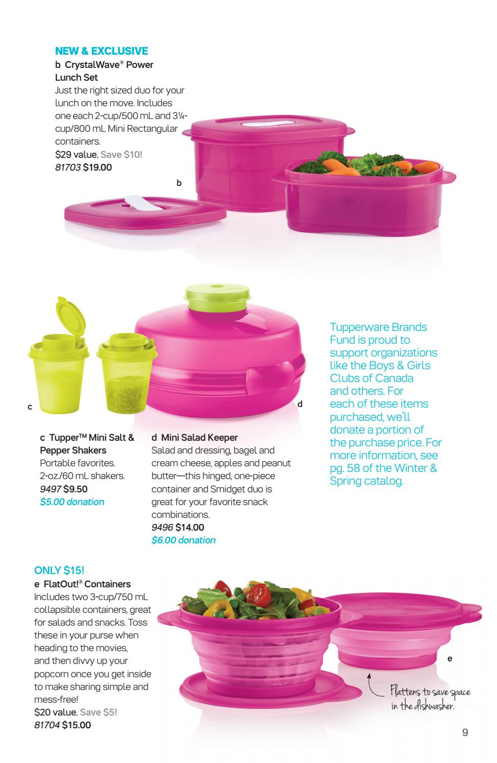 Can 2017 Mid Mar Tupperware Flyer By Mytwpage Issuu