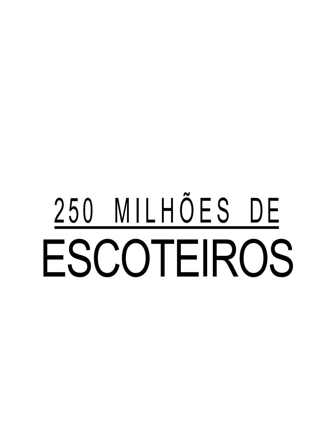 250 milhões de escoteiros by Chefe Du - issuu d71485764cd