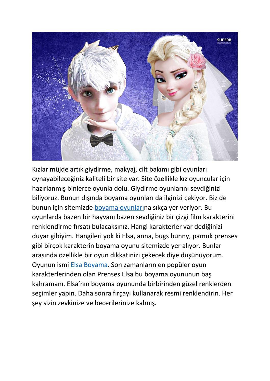 Elsa Boyama Oyunlari By Secilarslann Issuu