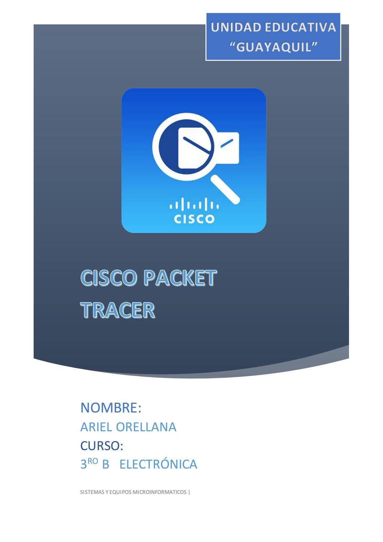 Cisco packet by ariel - issuu