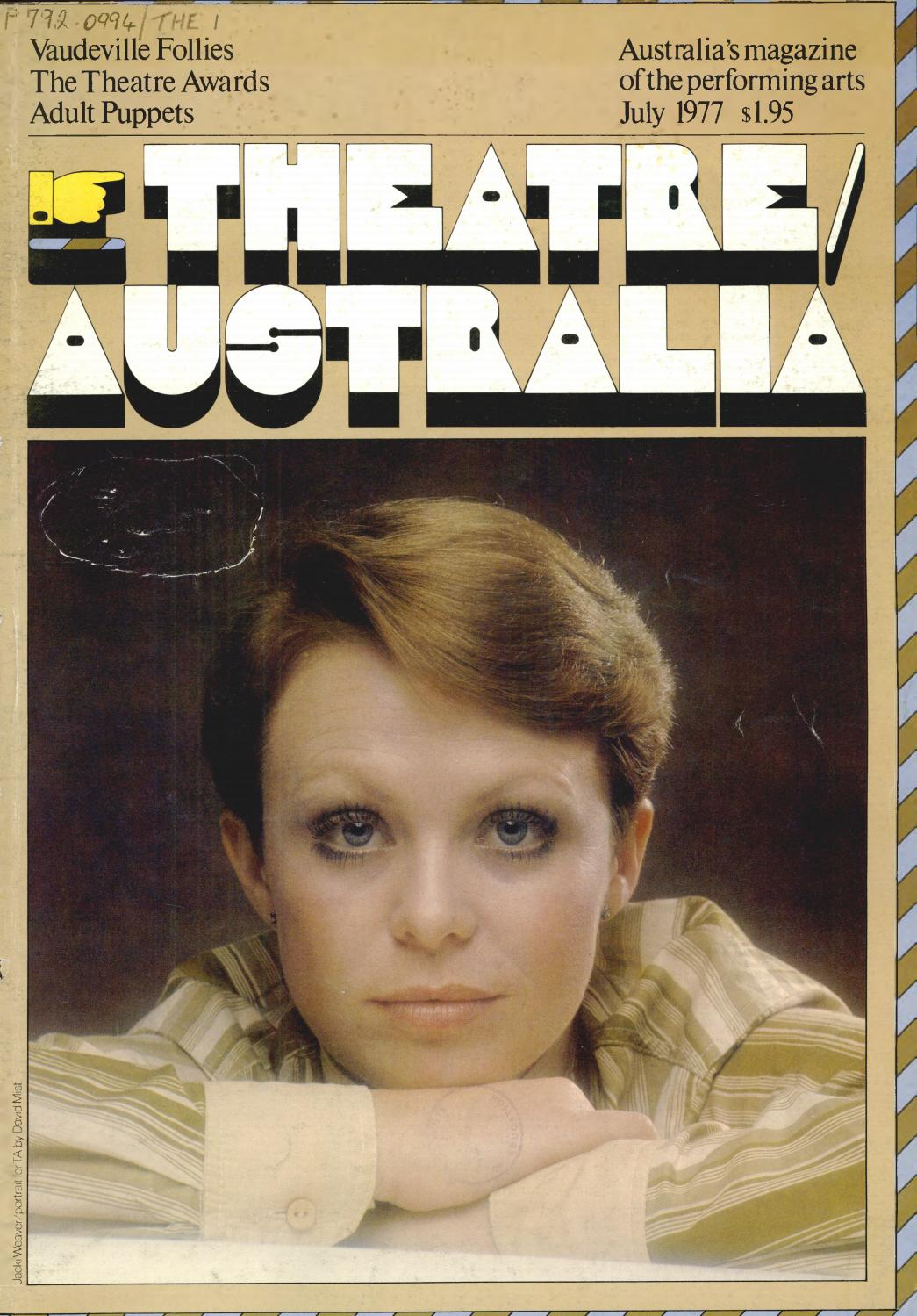 Theatre Australia 23 July 1977 By Uow Library Issuu Complete Vintage Avalon Speed Circuit Board Game