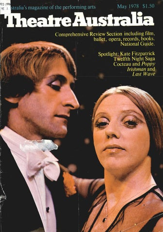 Theatre australia 210 may 1978 by uow library issuu ffirstralia s magazine of the performing arts fandeluxe Choice Image