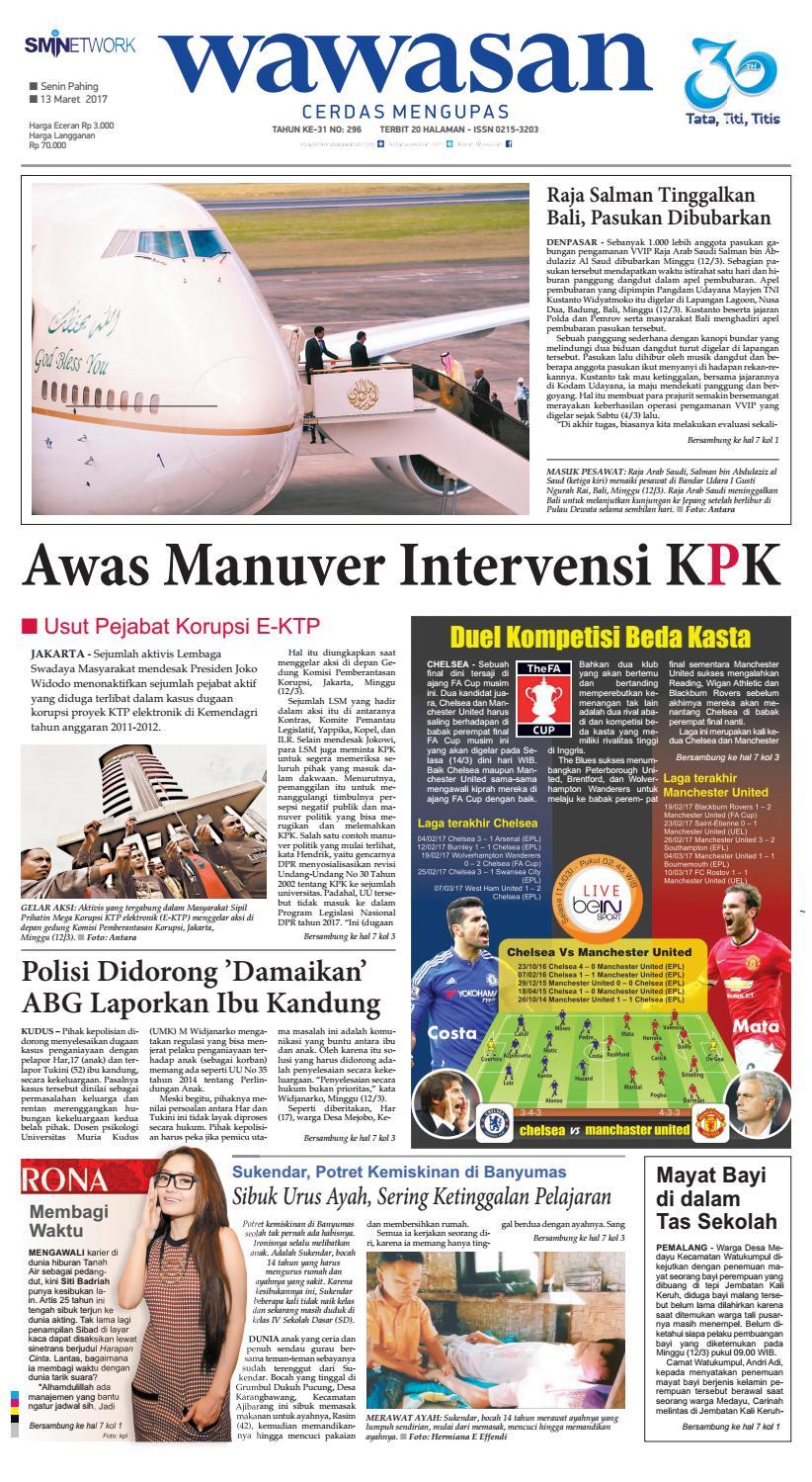 Wawasan 13 Maret 2017 By Koran Pagi Issuu Produk Ukm Bumn Jus Durian Lite Kuning Omah Duren