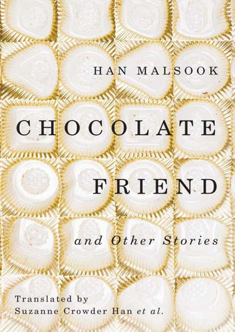 Chocolate Friend and Other Stories by LTI Korea Library - issuu