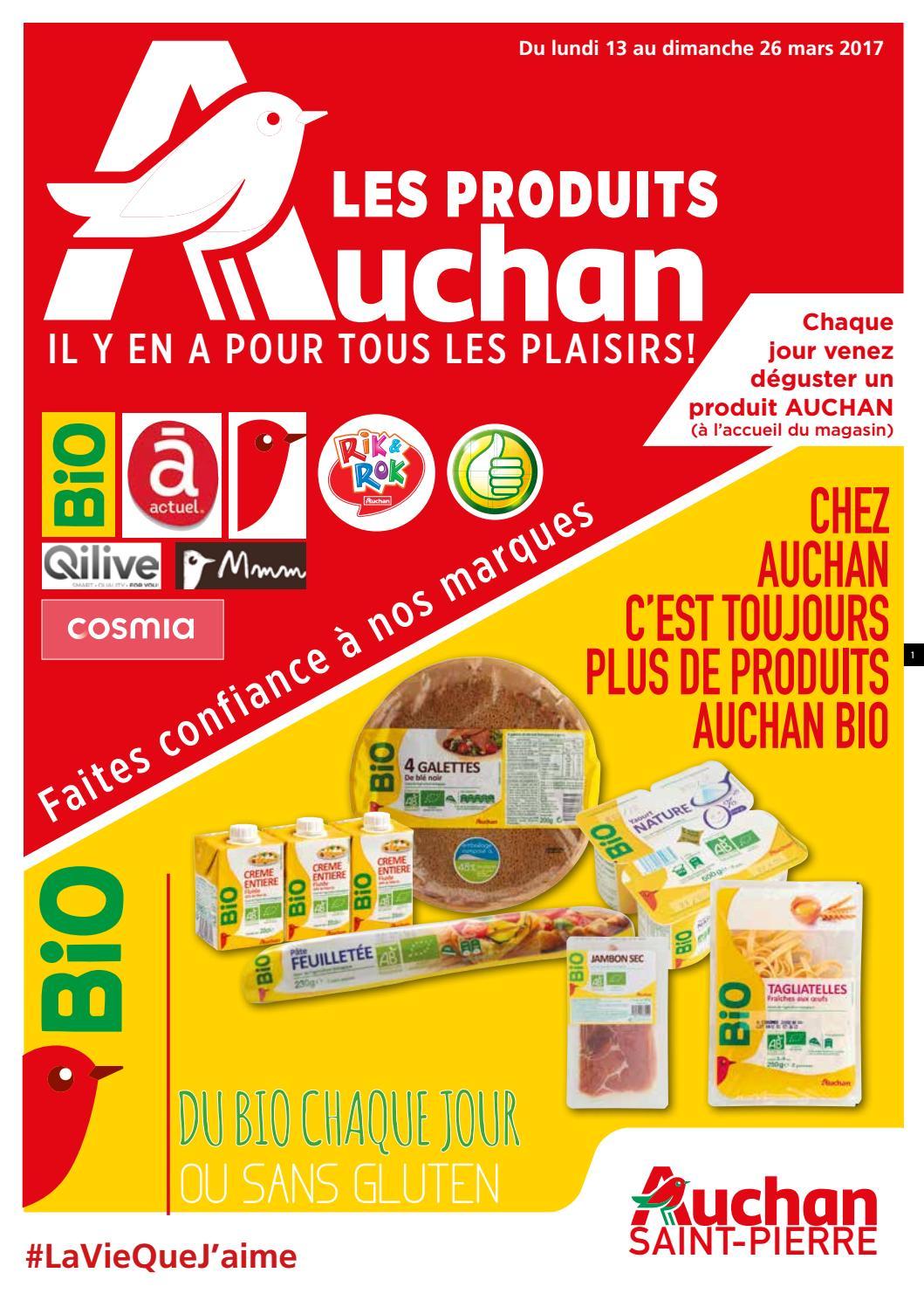 Catalogue Auchan Saint-Pierre du 13 au 26 mars 2017 by ...