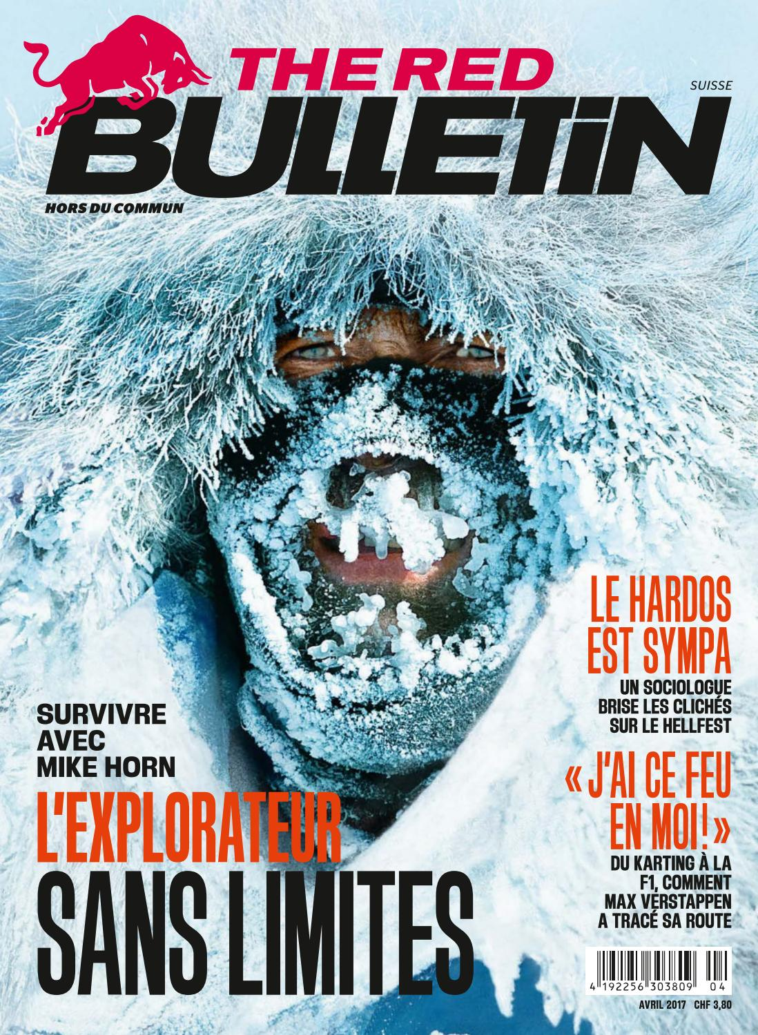 The Red Bulletin Avril 2017 CHFR by Red Bull Media House