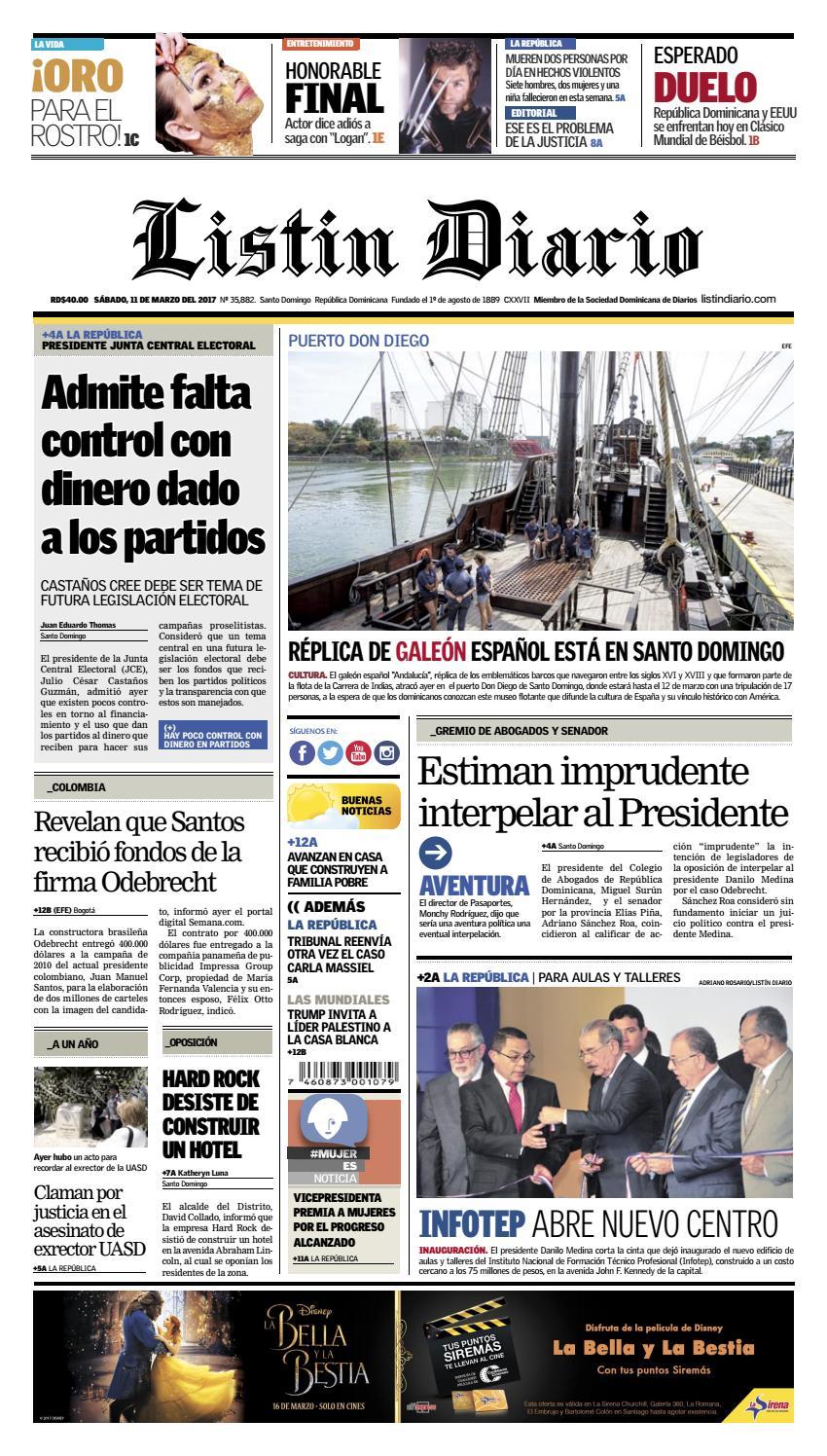 2017 03 11 by Listín Diario - issuu
