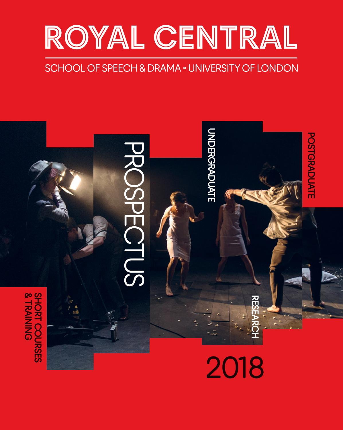 The Royal Central School of Speech and Drama - Prospectus