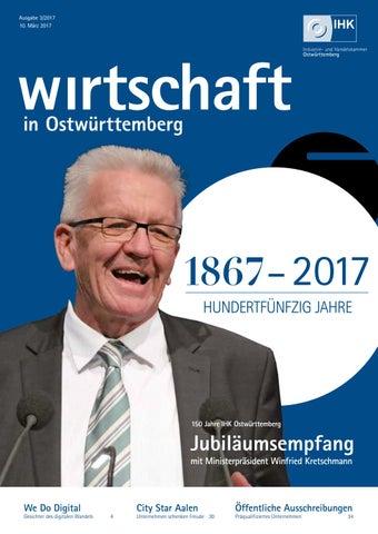 Wirtschaft In Ostwürttemberg März 2017 By Medienwerkstatt Ostalb