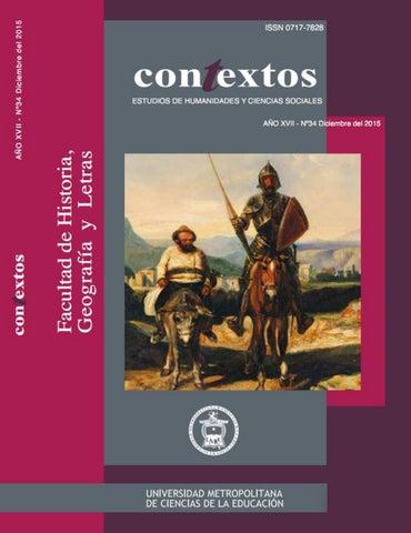 2692d03f789 CONtEXTOS N° 34. REVISTA DE HUMANIDADES Y CIENCIAS SOCIALES