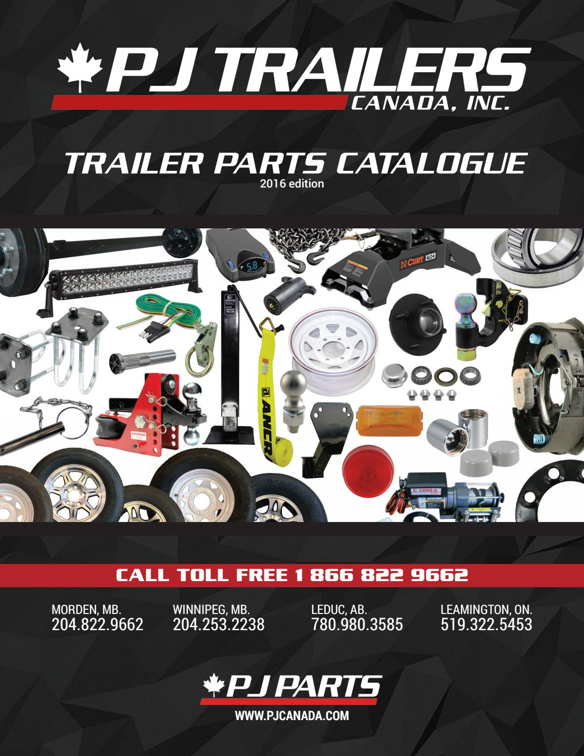 PJ Trailers Canada - Trailer Parts Catalogue by PJ Trailers Canada on