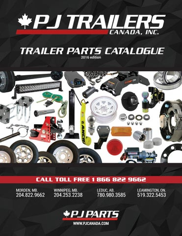 TRAILER PARTS CATALOGUE 2016 edition  sc 1 st  Issuu : pj trailer wiring diagram - yogabreezes.com