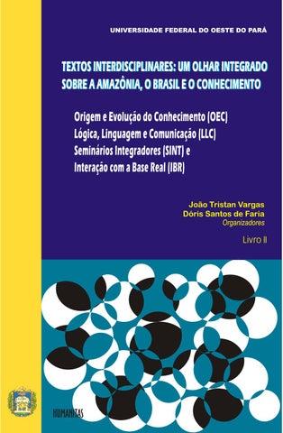 7cb67859343 Textos Interdisciplinares - Um Olhar Integrado sobre a Amazônia