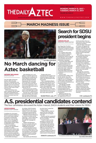 6fe916c4c7 03-13-2017 by The Daily Aztec - issuu