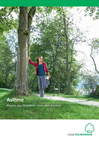 asthme by lungenliga schweiz issuu. Black Bedroom Furniture Sets. Home Design Ideas