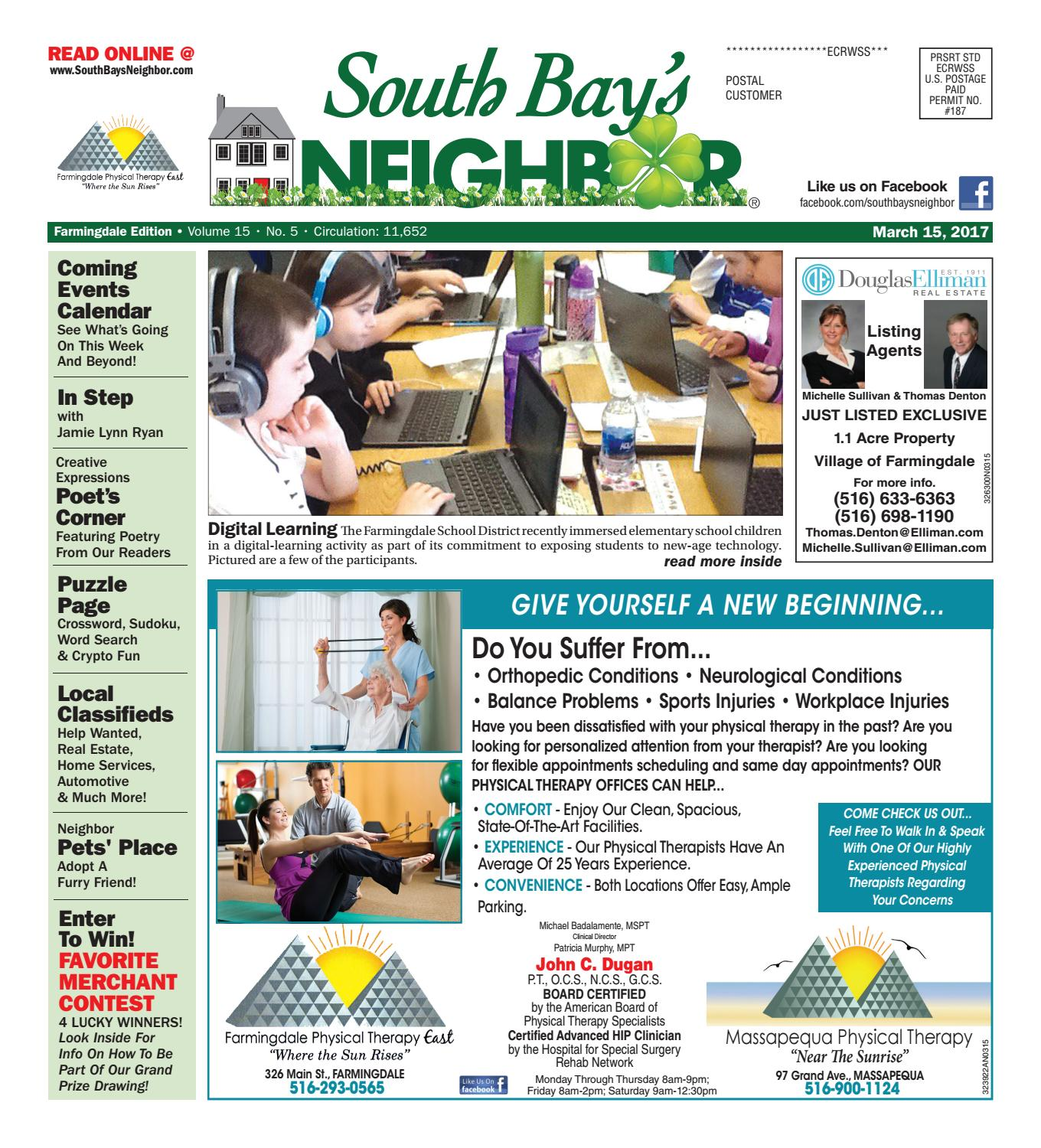 march 15, 2017 farmingdale by south bay's neighbor newspapers - issuu