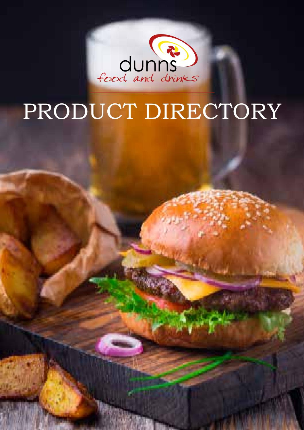 Dunns Food   Drinks Product Directory by Infotech Studio - issuu 006643363e0ed