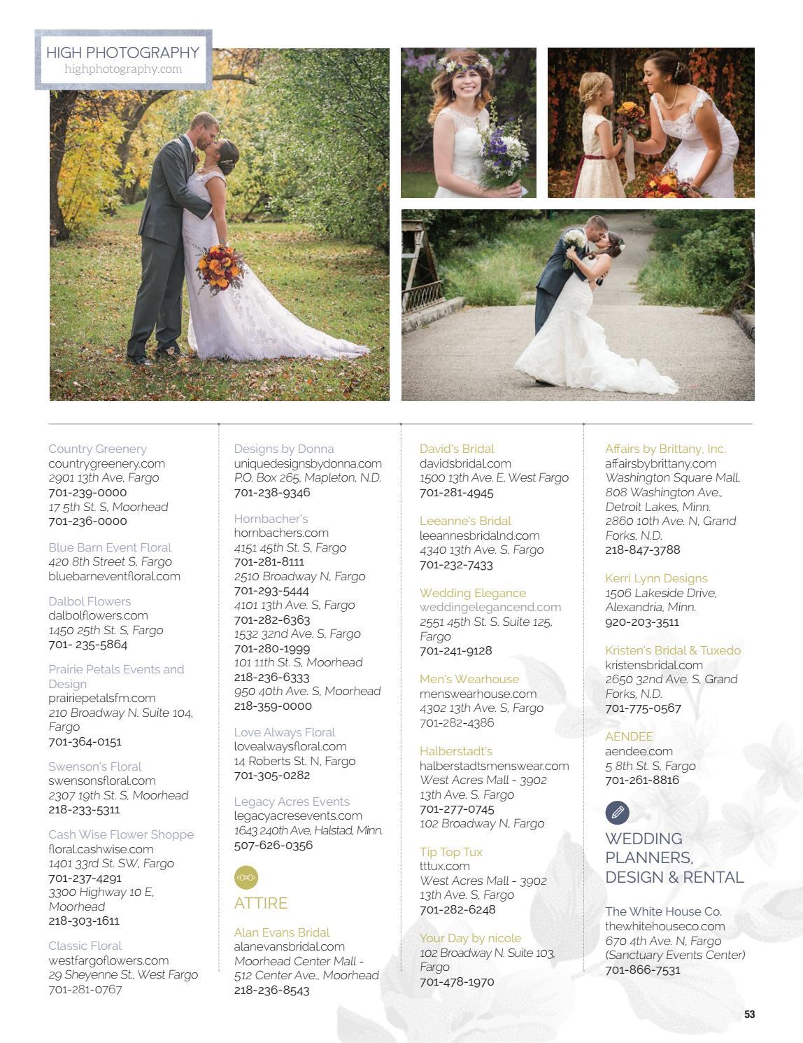 e350eb24628d Fargo Monthly's Wedding Guide 2017 by Spotlight Media - issuu