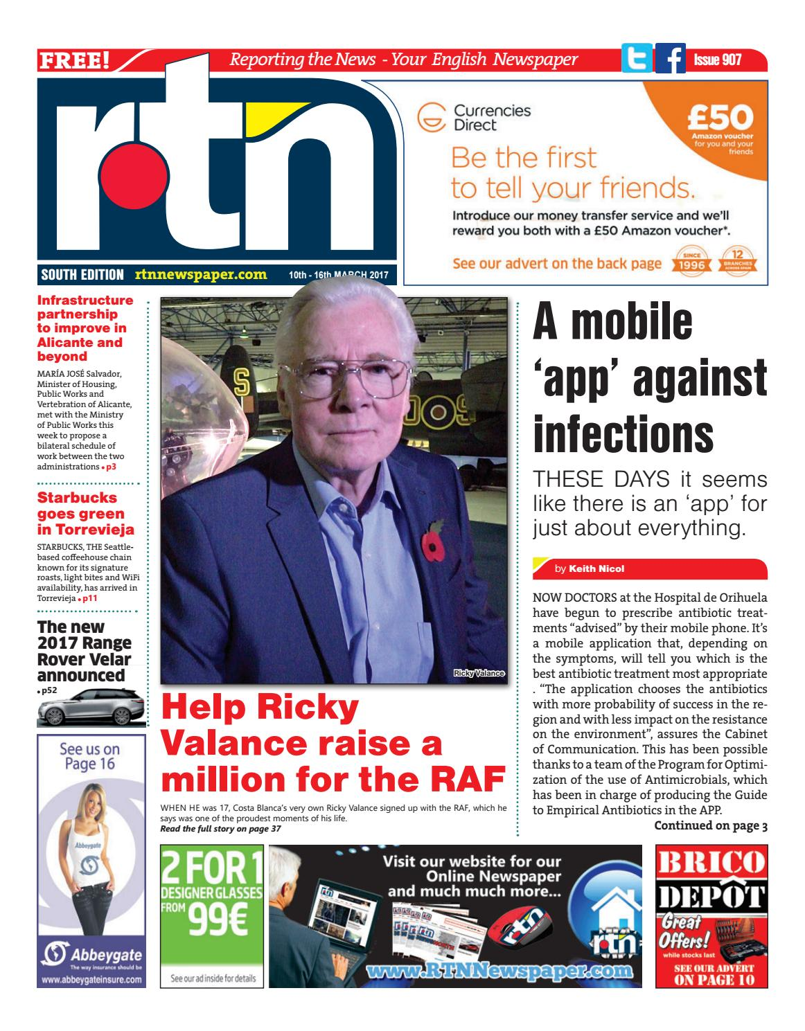 Rtn Newspaper Costa Blanca South 10 16 March 2017 Issue 907 By  # Muebles Nemesis Bahia Blanca