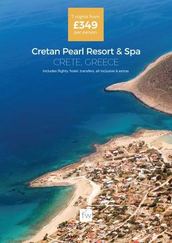 Cretan Pearl Resort Spa Crete Greece By Fleetway Issuu