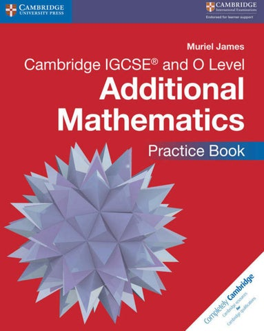 Preview Cambridge IGCSE Additional Mathematics Practice Book