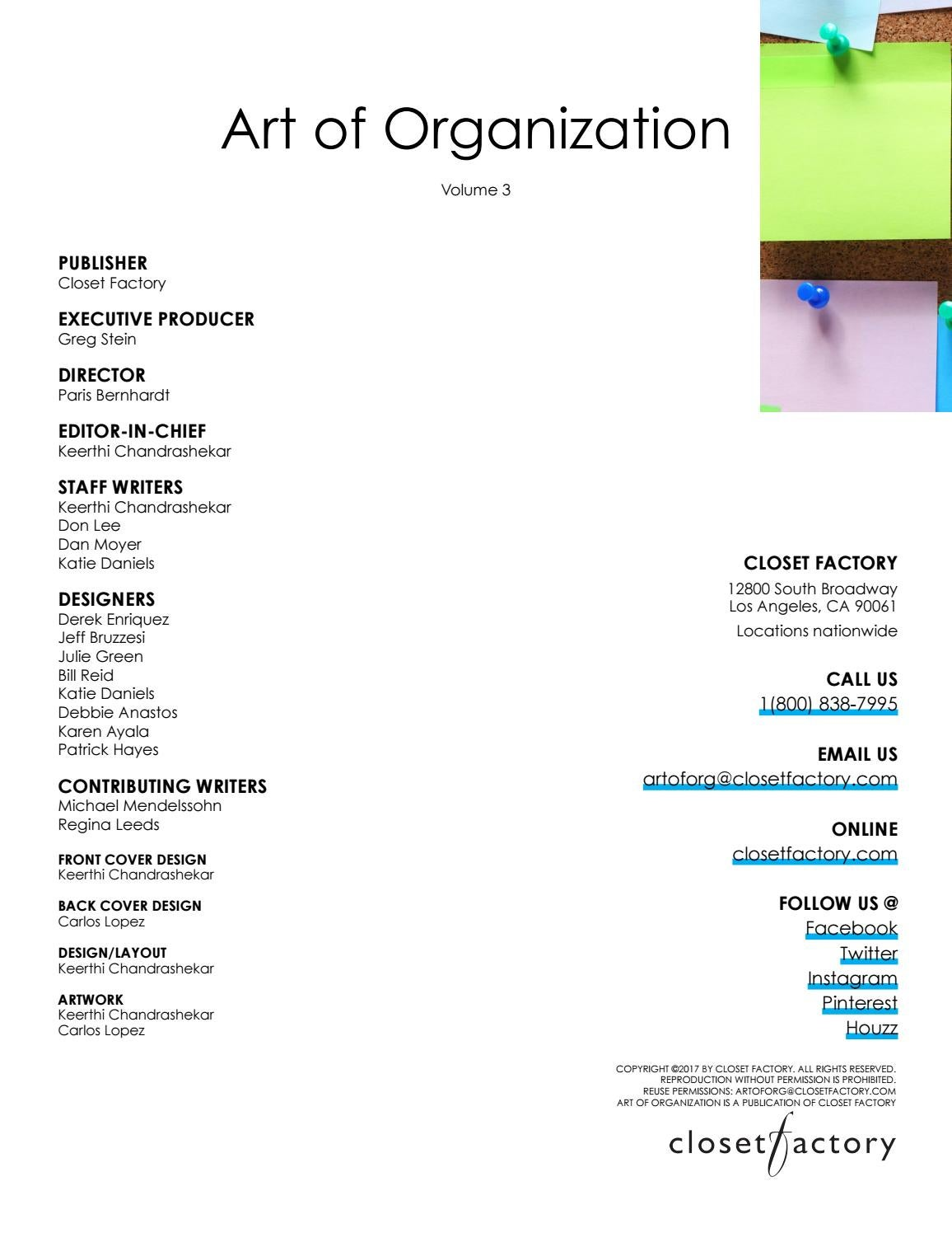 Art Of Organization Volume 3