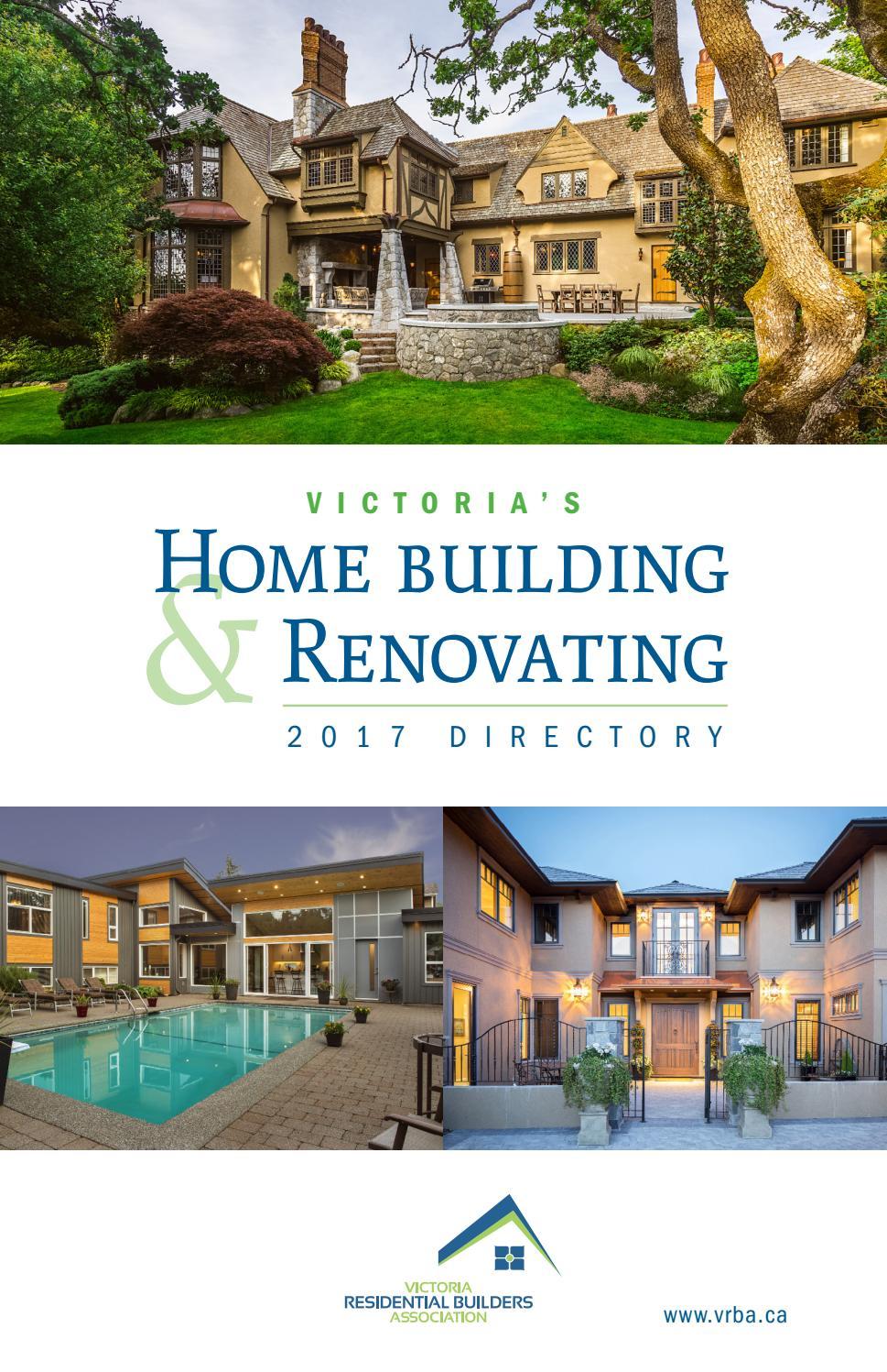 Homebuilding Renovating: Victoria's Home Building & Renovating 2017 Directory By Victoria Residential Builders