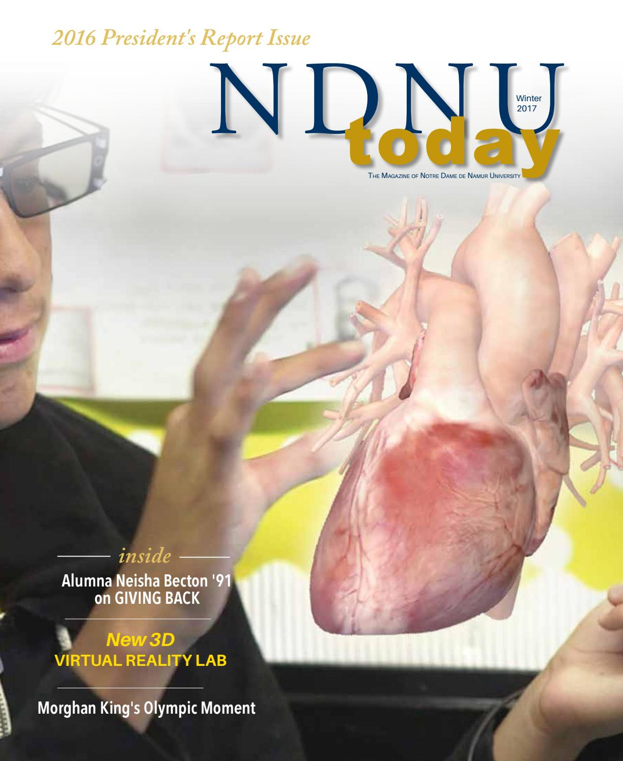 NDNU Today Fall 2014 + 2014 President's Report by Notre Dame de ...