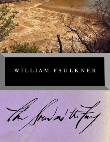 The Sound And The Fury William Faulkner By Zoldyeck Issuu