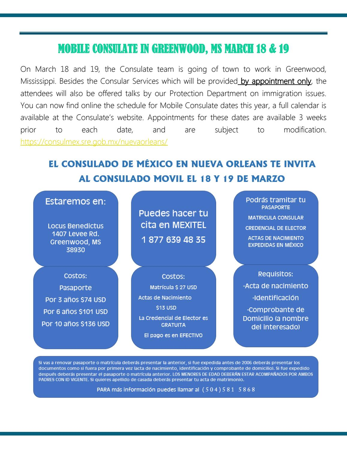 Consular Gazette February2017 by Consulado de México en