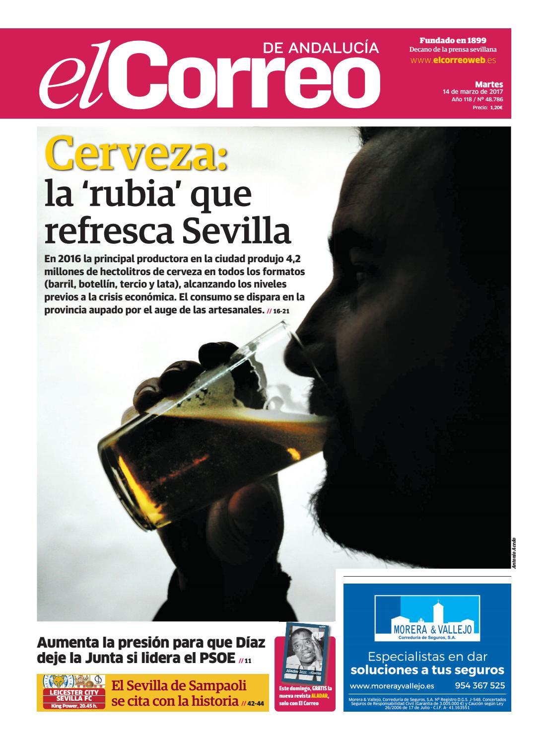14 03 2017 El Correo de Andalucía by EL CORREO DE ANDALUCÍA S.L. - issuu 35ea75213c5