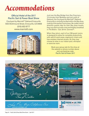 Accommodations Official Hotel Of The 2017 Pacific Sail Power Boat Show Courtyard By MarriottR Oakland Emeryville 5555 Shellmound Street