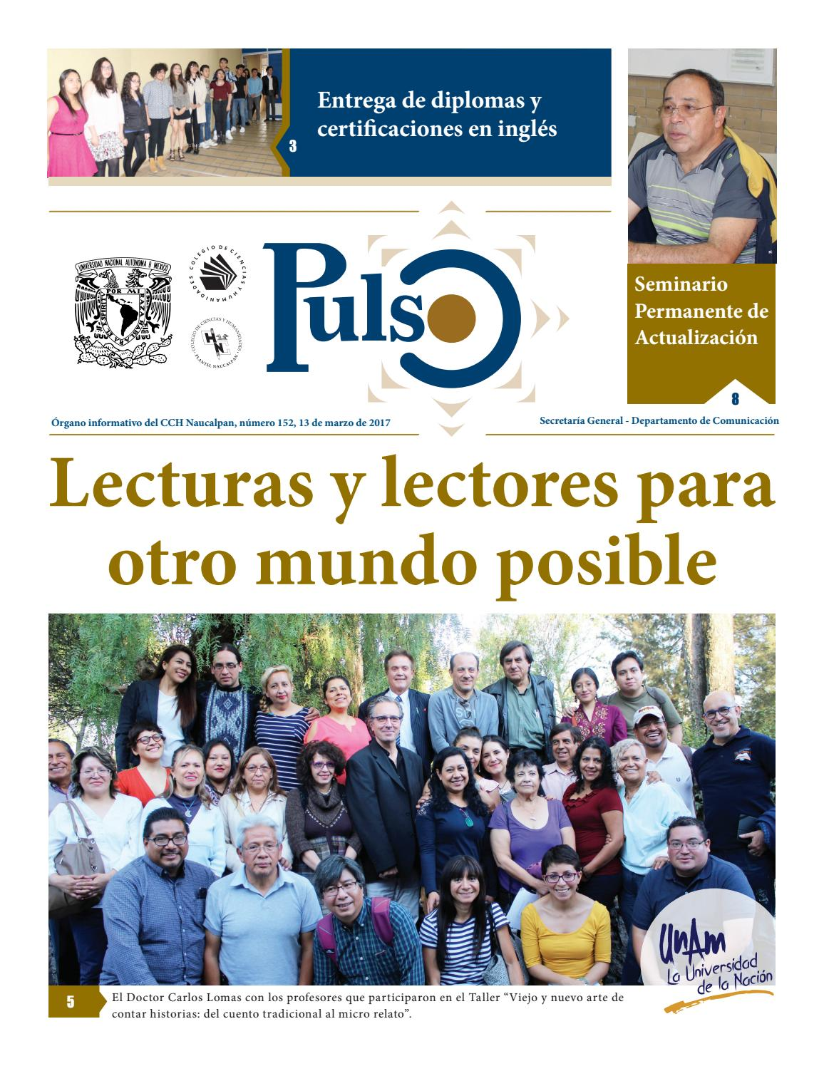 Pulso 152 by Pulso CCH Naucalpan - issuu