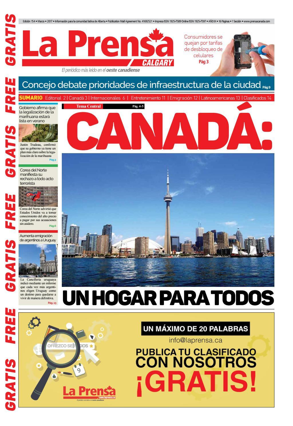 2da Edición Calgary Marzo 2017 by Buena Vista Editores - issuu