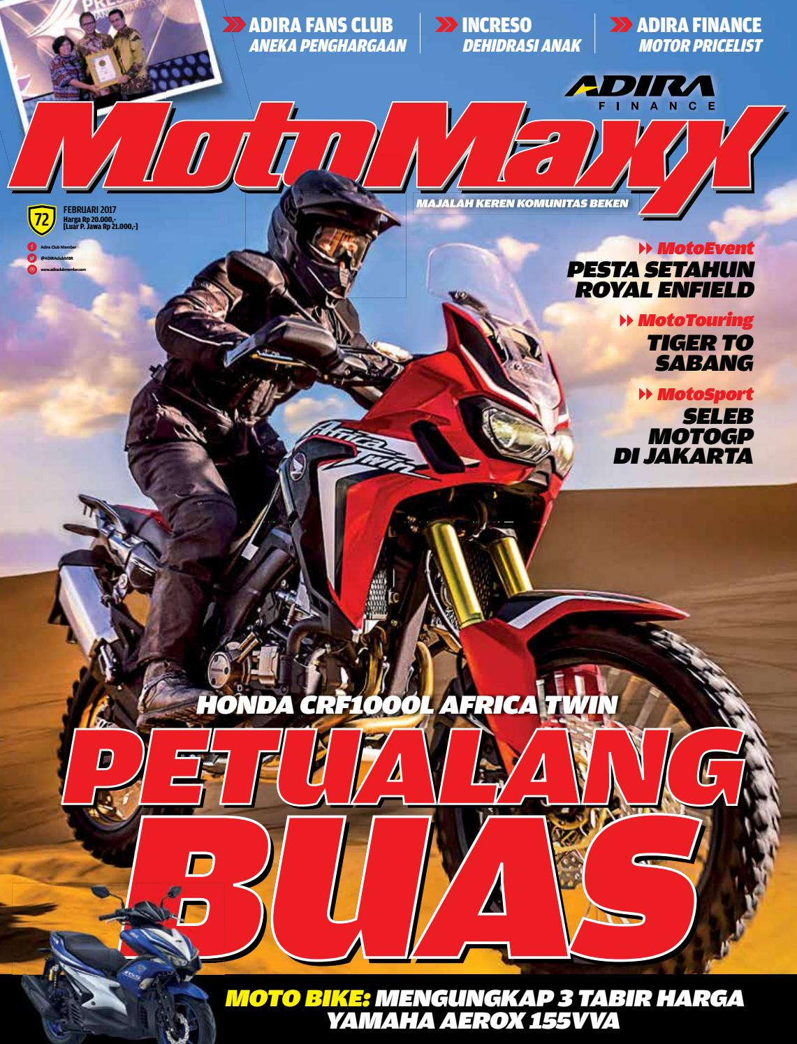 Motomaxx 02 2017 By Adira Member Issuu New Vario 110 Esp Cbs Glam Red Purbalingga
