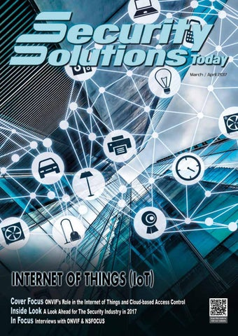 Security Solutions Today Mar Apr 2017 By Security Solutions Today