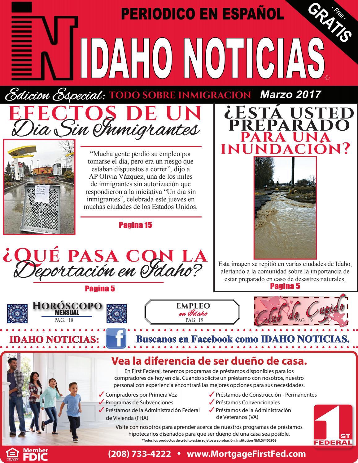 Periodico Idaho Noticias Edicion Marzo 2017 by Idaho Noticias - issuu