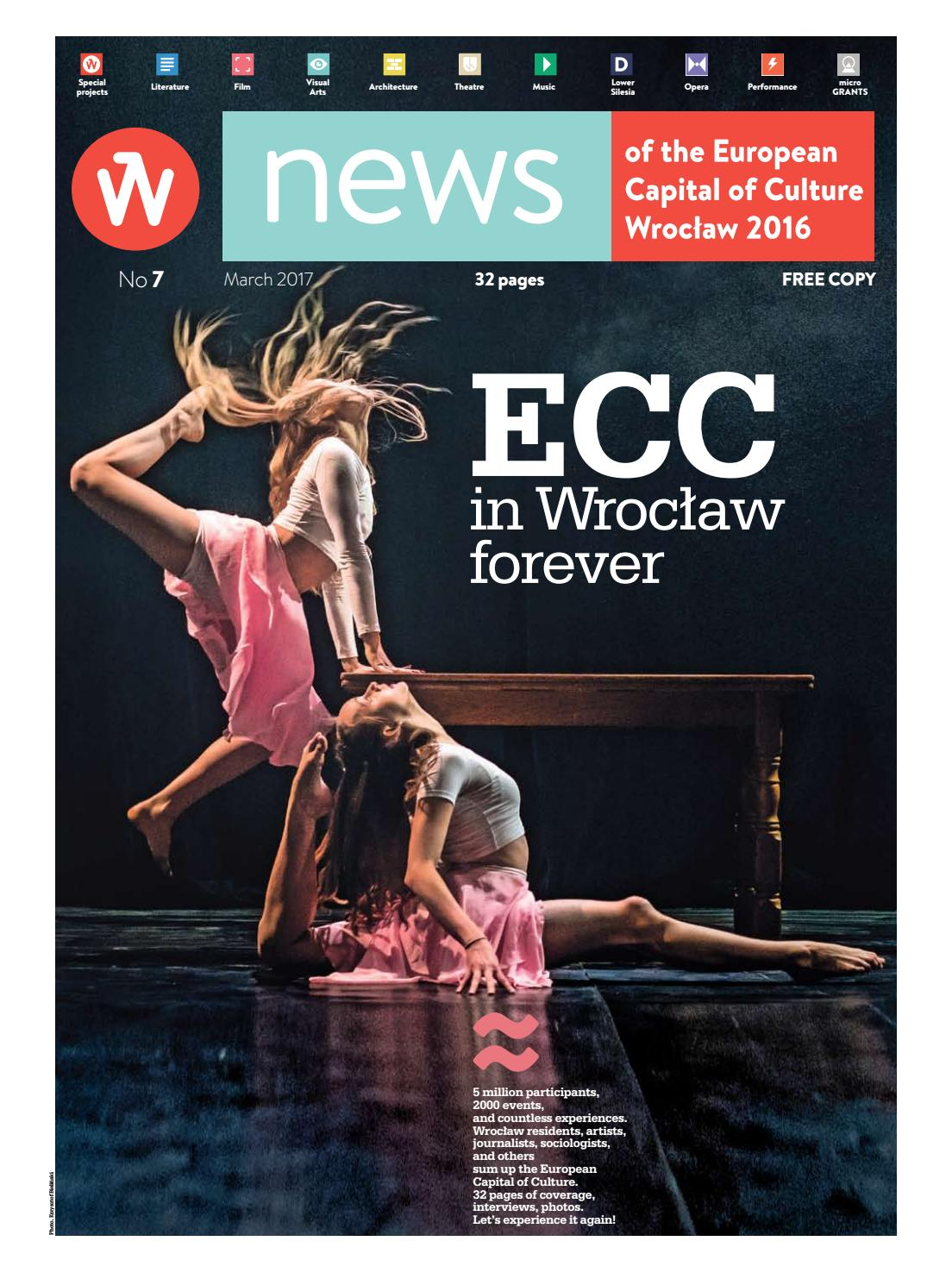 News Of Ecc Wroclaw 2016 No 7 By Wrocław 2016 Issuu