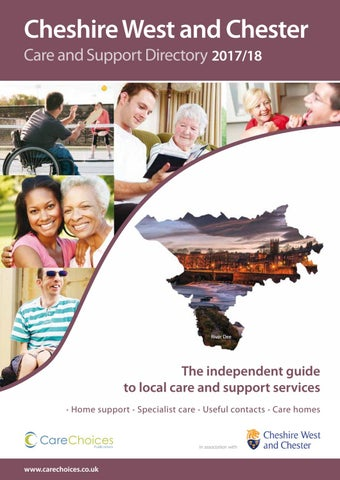 Cheshire West and Chester Care and Support Directory 2017/18